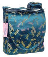 Teal dragonfly diaper bags