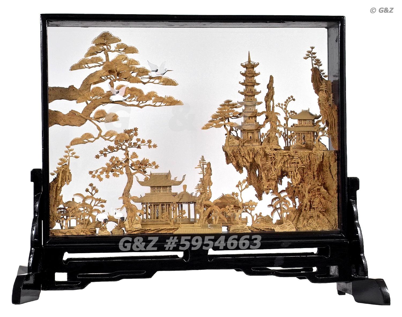 Asian Cork Art 6