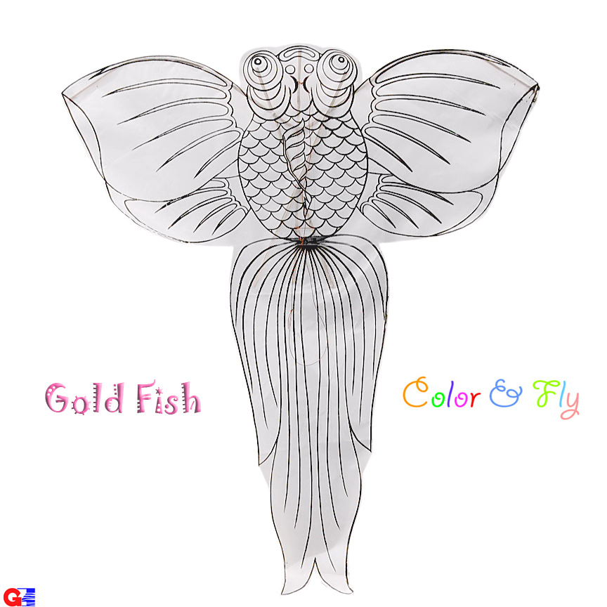 Free carp or koi coloring pages for Koi fish kite