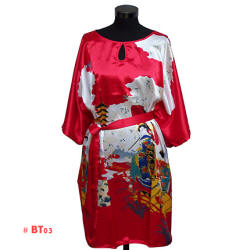 Red Geisha Caftan (Night Gown)