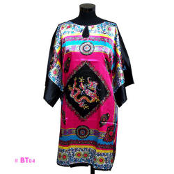 Pink Dragon Caftan (Night Gown)