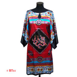 Red dragon nightwear (caftan)