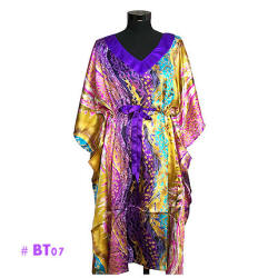 Purple African Style Sleeping Gowns For Ladies