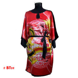 Red Chinese dragon gowns