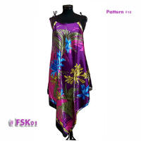 Floral print fashion dress FSK01-10