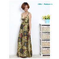 Floral print fashion dresses SR07-2