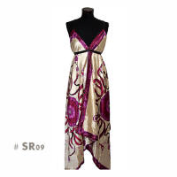 Purple long fashion dresses sr09