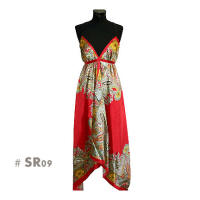 Red fashion long dresses sr09