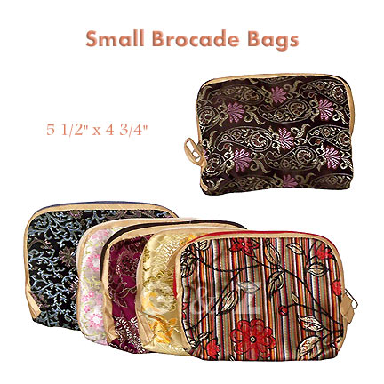 Brocade Camera Bags or Coin Purses