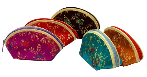 mini brocade purses