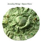Green jewelry wraps
