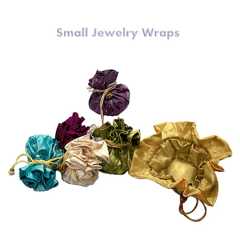 Draw-String Jewelry Wraps