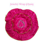 Open view of jewelry wrap