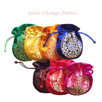 Mini Asian Change Purses