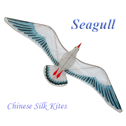Silk Seagull Kite