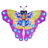 Pink Chinese Butterfly Kite
