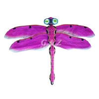 hot pink dragonfly kite