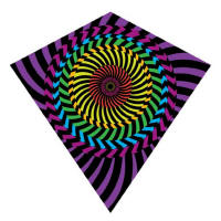 Nylon Diamond Kites - Hypno